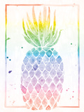 Pineapple Sunrise Print by Sta Teresa Ashley