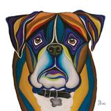 Boxer Prints by Debra Bucci