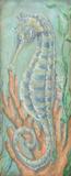 Santorini Seahorse II Print by McRostie Kate