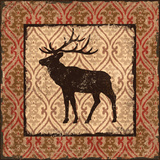 Modern Elk Spice II Poster by Paul Brent