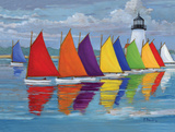 Rainbow Fleet Prints by Brent Paul