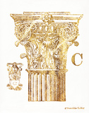 Gold Column C Prints by Gwendolyn Babbitt