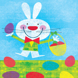 Easter Bunny Posters by Steve Mack