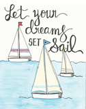 Let Your Dreams Prints by Martin Monica