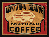 Brazillian Coffee Prints by Giacopelli Jason