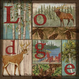 L is for Lodge Print by Brent Paul