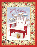 Snow & Mistletoe Prints by Gwendolyn Babbitt