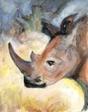 Rhino Plakater af Palanuk-Wilson Denice