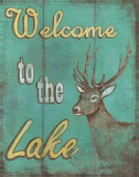 Lake Welcome Posters by Catherine Jones