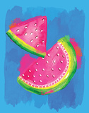 Watermelon Posters by Berrenson Sara