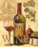 Wine III Posters by Gregory Gorham