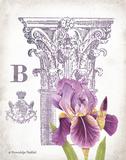 Column & Flower B Posters by Gwendolyn Babbitt