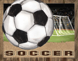 Soccer Prints by Todd Williams