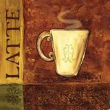 Coffee Break III Print by BJ Lantz