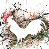 Party Rooster II Poster by Gregory Gorham