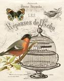 Music Bird I Prints by Babbitt Gwendolyn