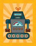 Robot IV Prints by Teresa Woo