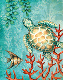 Turtle Prints by Wright Sydney