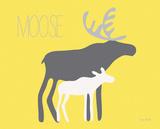 Yellow Zoo IV Art by Ruff Kris