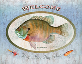 Sunfish Sign Posters by Washburn Lynnea