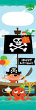 Pirate Birthday Prints by Mack Steve