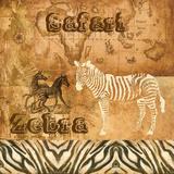 Safari Zebra Plakater af Gregory Gorham