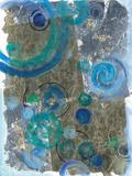Peacock Swirl I Art by Ferry Margaret