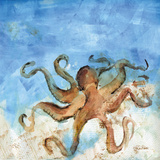 Ocean Octopus Art by Roberto LuAnn