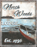 North Woods Lodge Posters by Jones Catherine