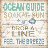 Ocean Guide Sq Prints by Williams Todd
