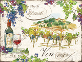 On the Vineyard I Prints by Julie Paton