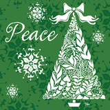 Peace Tree Prints by Woo Teresa