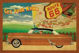 Route 66 II Print by Jason Giacopelli