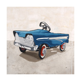Pedal to the Metal Giclee Print by Clayton Rabo