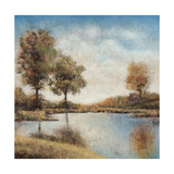 Trees upon the Water I Giclee Print by Jason Javara