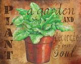 Plant a Garden V Posters by Donna Knold