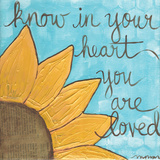 You Are Loved Print by Monica Martin