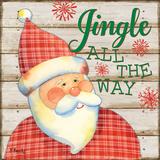 Jolly Santa III Posters by Brent Paul