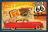 Route 66 I Poster by Jason Giacopelli