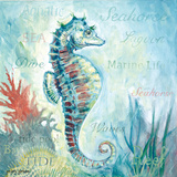 Marine Life Motif I Posters by Gregory Gorham