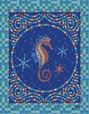 Macedonia Reef Seahorse Posters by Teresa Woo
