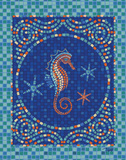 Macedonia Reef Seahorse Posters by Woo Teresa
