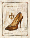 Keys to Paris Chaussure Posters by Gregory Gorham