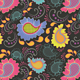 Playful Paisley II Poster by Patty Young