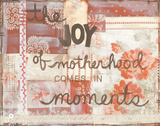 Joy Of Motherhood Prints by Martin Monica