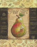 Pear Tart Poster by Todd Williams