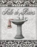 Salle De Bains Poster by Todd Williams