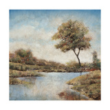 Trees upon the Water II Giclee Print by Jason Javara