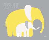 Yellow Zoo III Posters by Ruff Kris