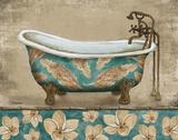 Tropical Bathtub I Plakater af Todd Williams